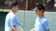 All-Area Boys' Tennis Doubles Team of the Year: Crescenta Valley tandem showed instant success
