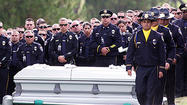 Photo Gallery: Former Burbank Police Cadet and Bakersfield Police Officer David Nelson's graveside service