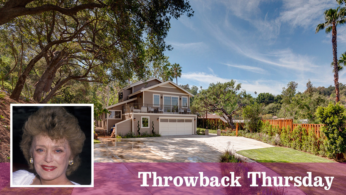 Throwback Thursday Home Was Rue Mcclanahan 39 S During Her