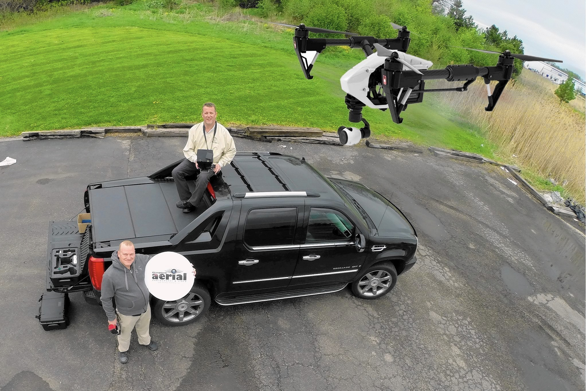 Commercial drones buzz the skies from Lake Zurich