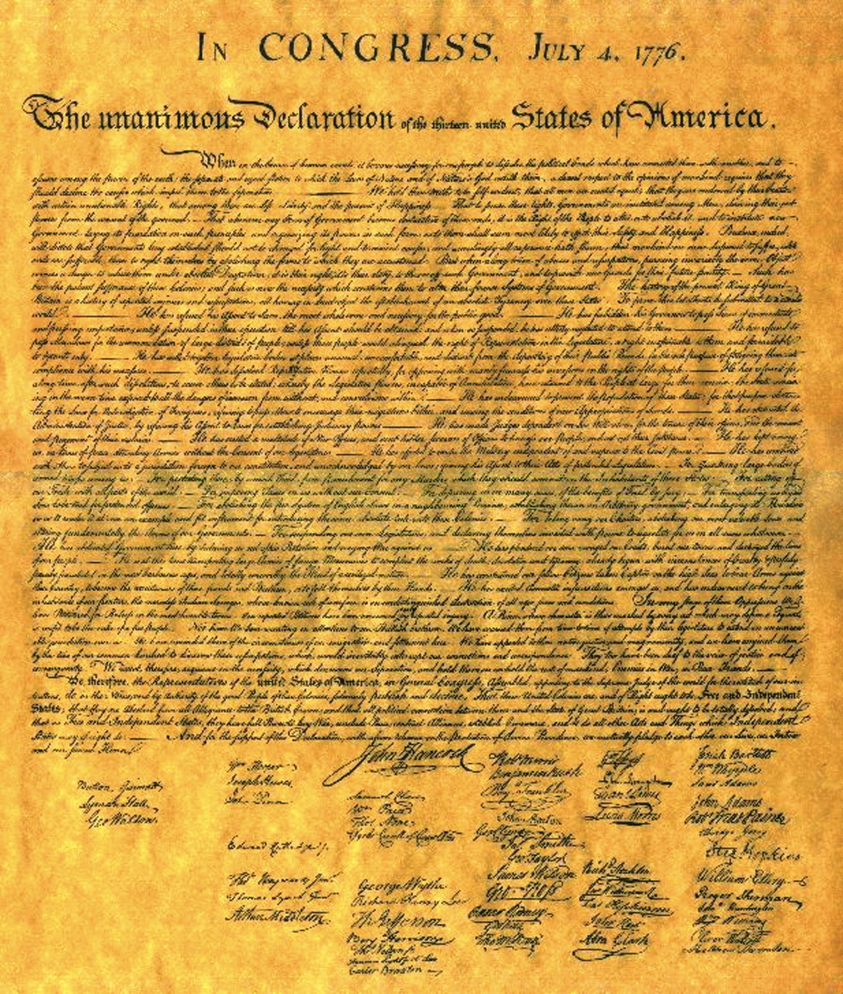 student version of decleration of independence Declaration of independence in congress, july 4, 1776 the unanimous declaration of the thirteen united states of america, when in the course of human events, it.