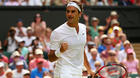 Roger Federer gives an exhibition in win over Sam Querrey at Wimbledon
