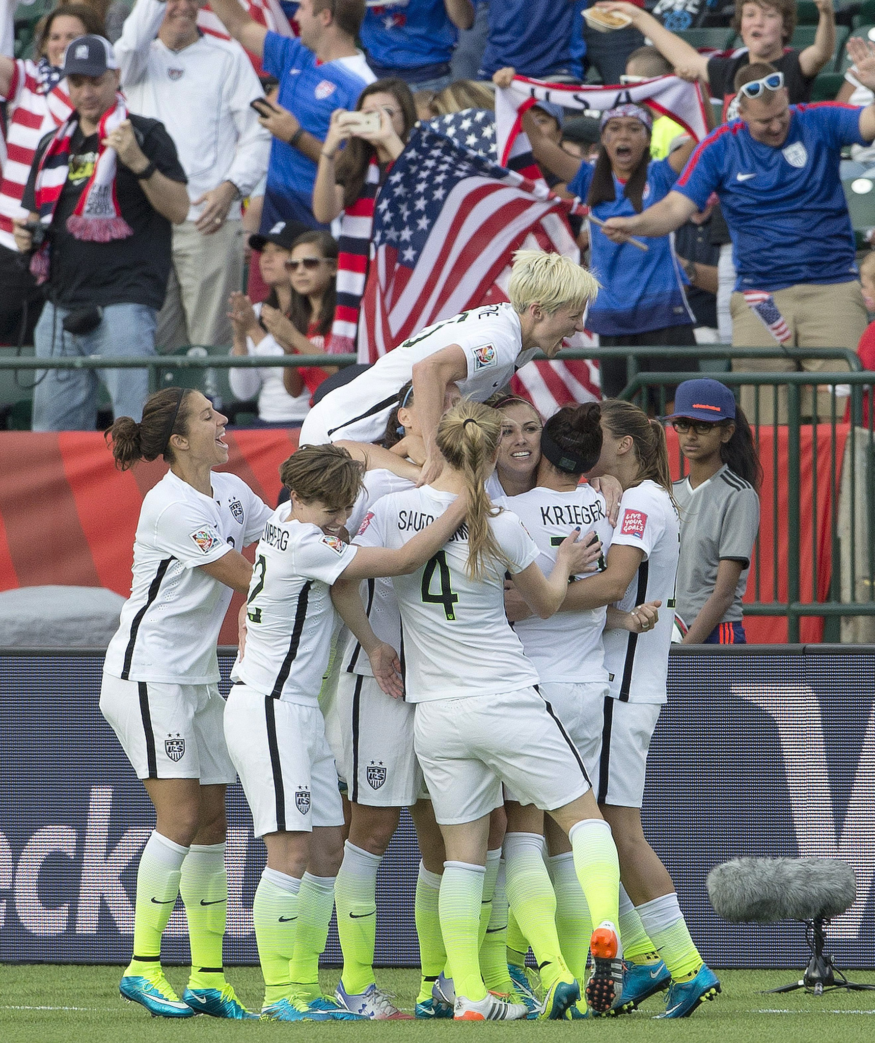 Why the U.S. has such an amazing women's soccer team