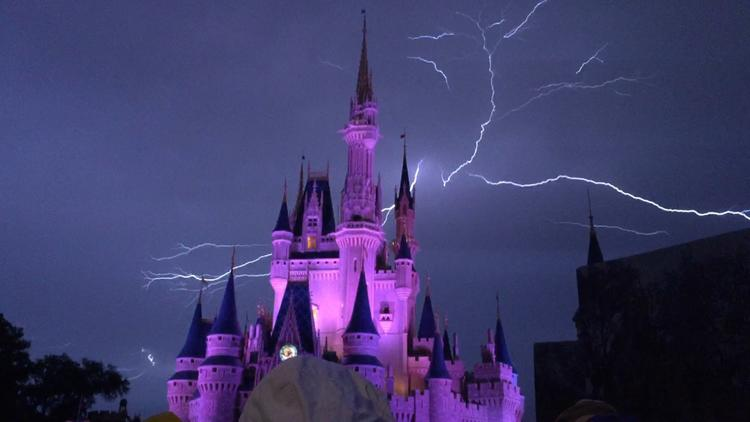 Lightning at Magic Kingdom