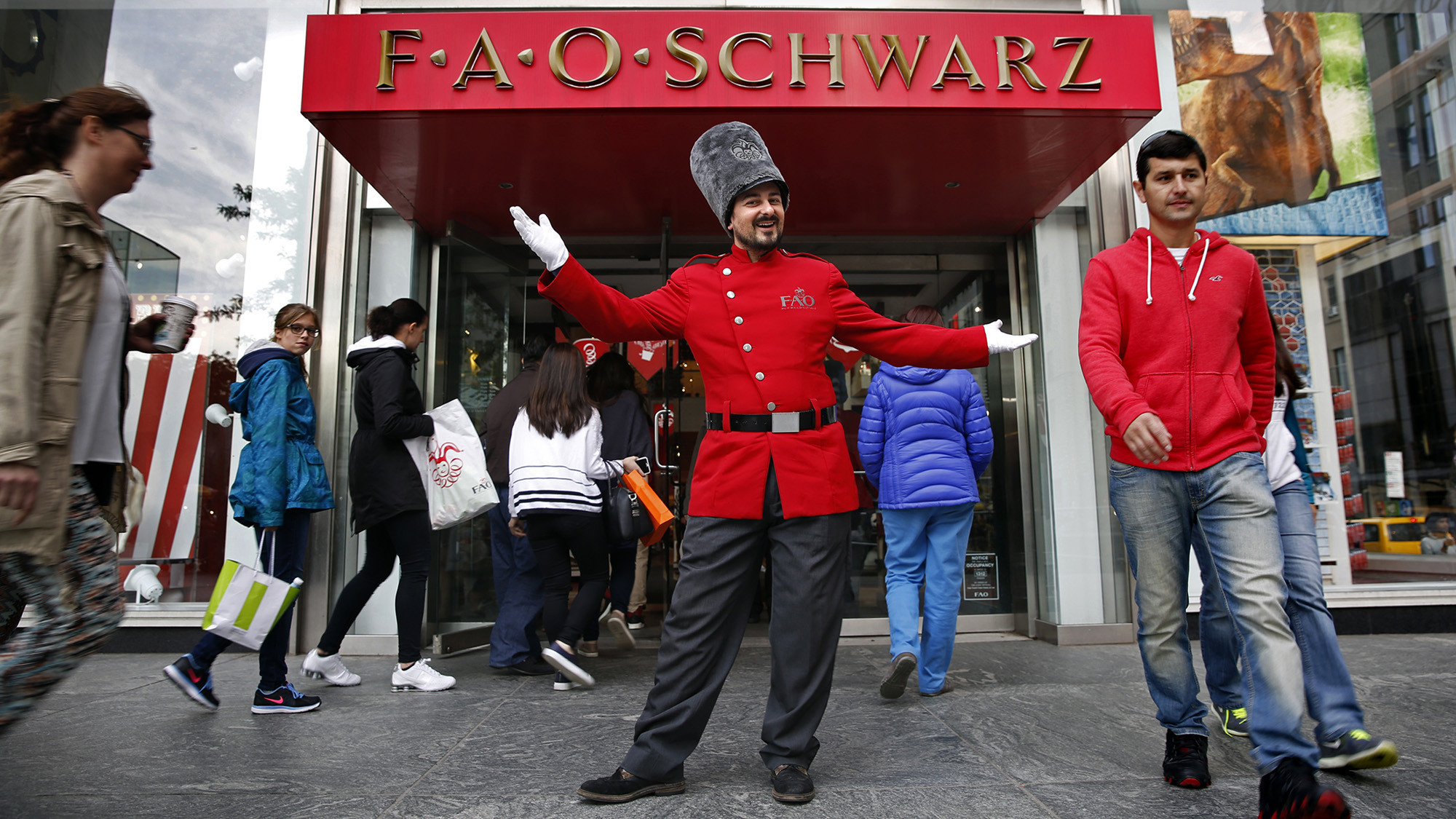 FAO Schwarz's toy soldiers are no match for Manhattan's sky-high rents