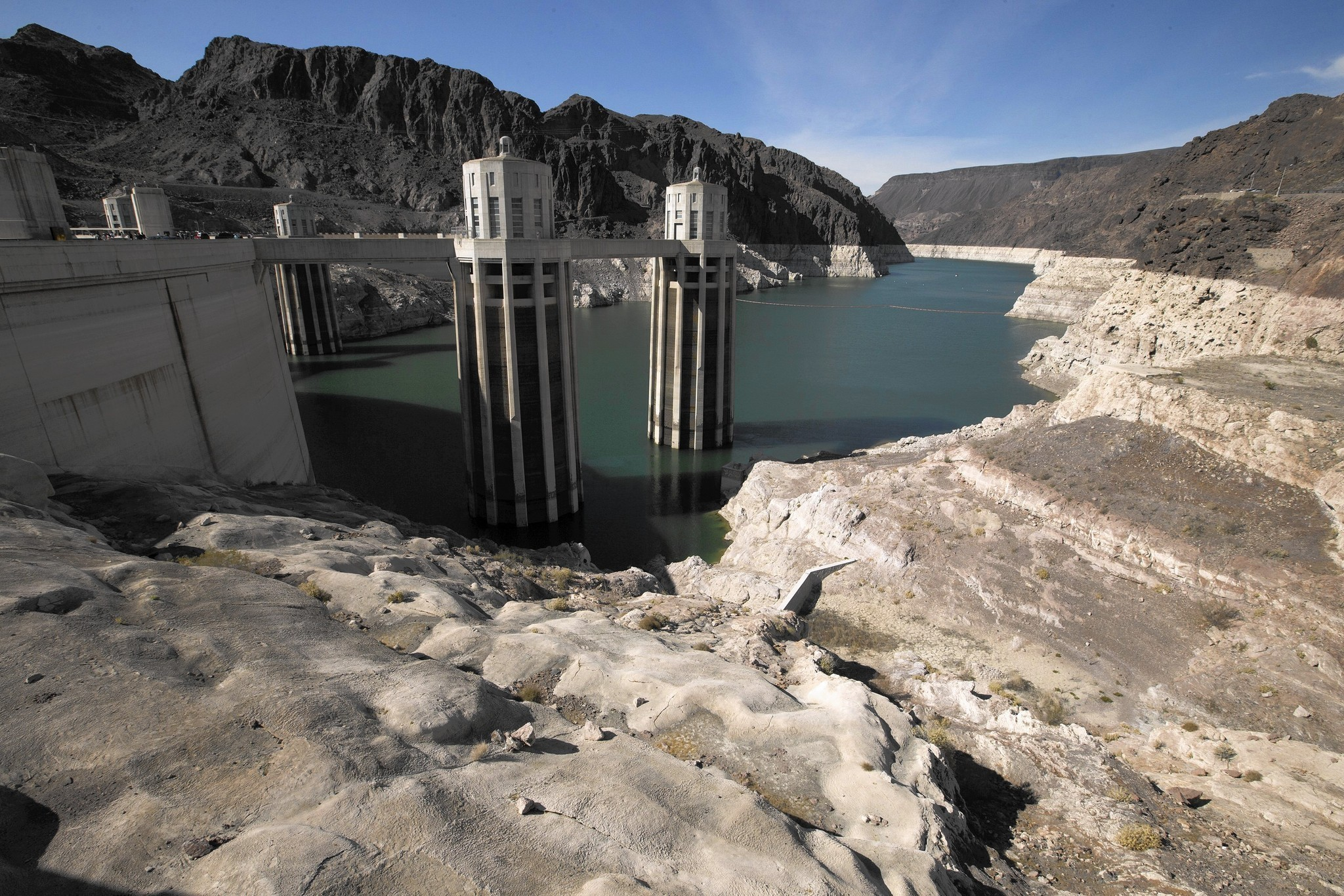 Lake Mead Hits A New Low But The Drought Has A Silver