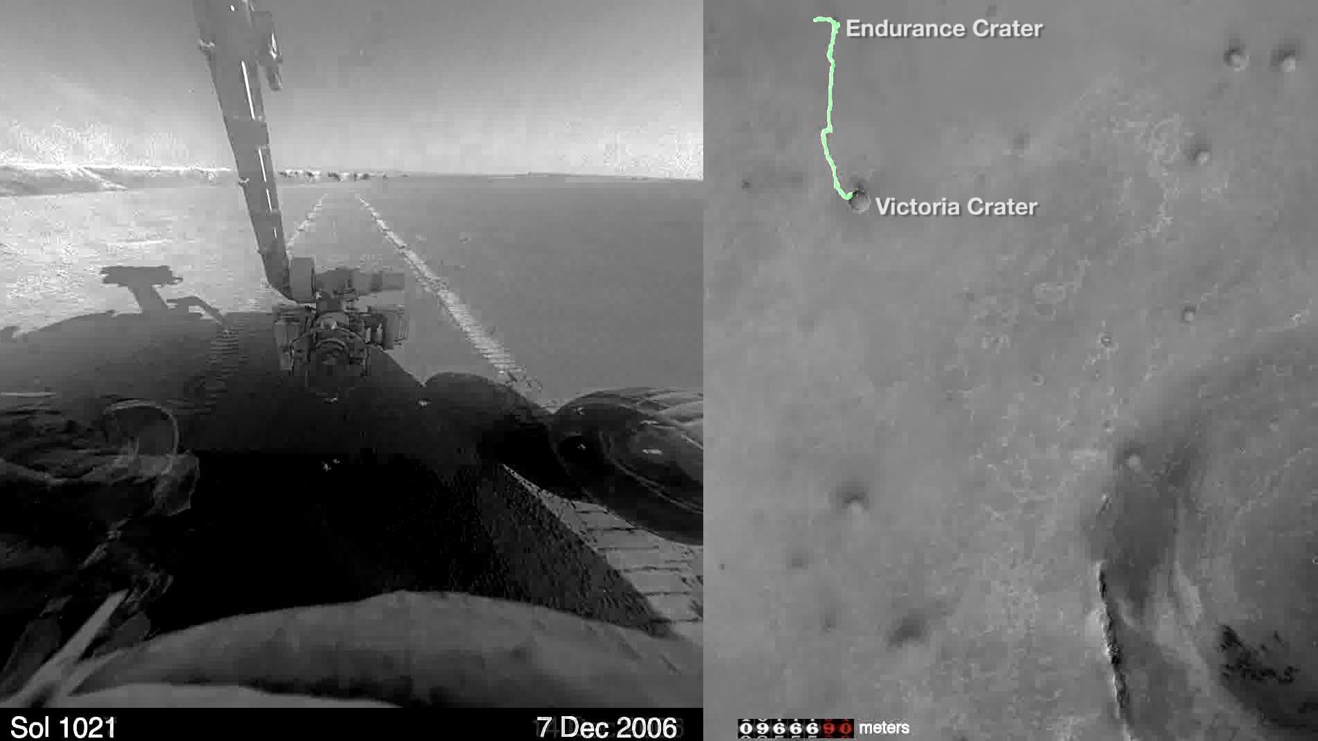 Watch NASA s Opportunity rover finish a marathon on Mars LA Times