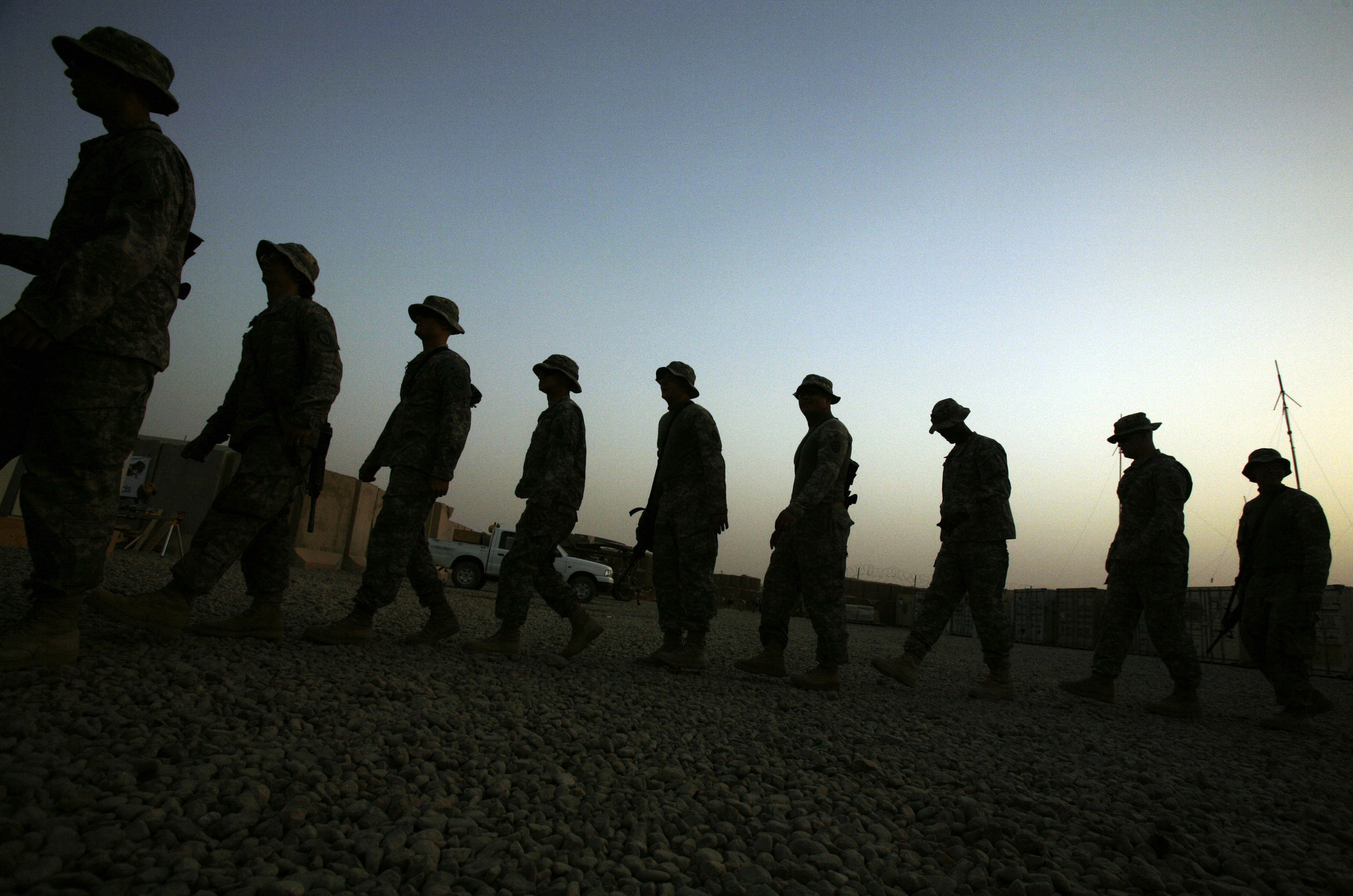 Study: War-time suicide attempts most common in newer soldiers