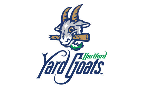 The hartford yard goats unveiled the new team logo and colors at a