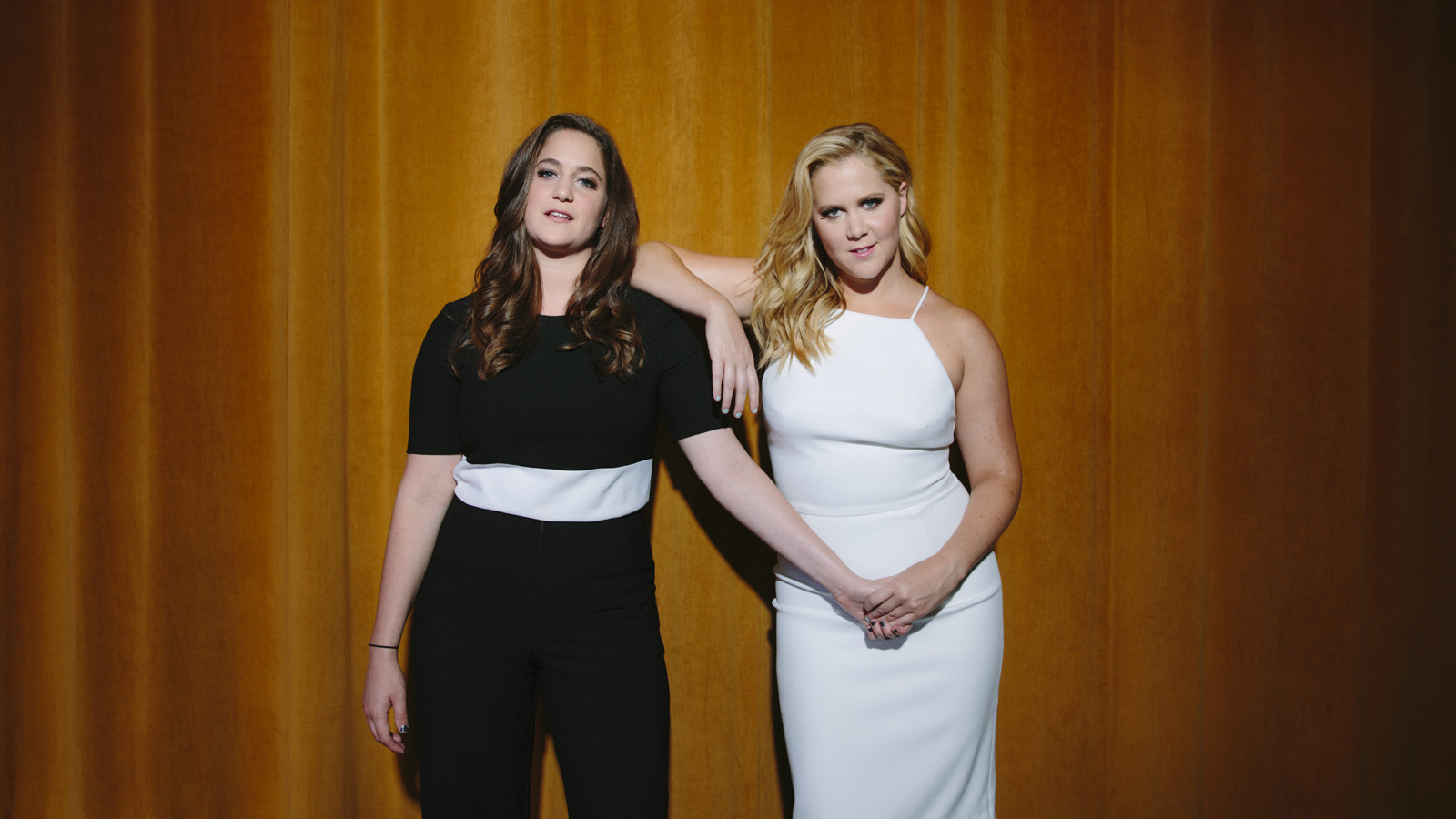 the kim and amy schumer show — just rub it in - la times
