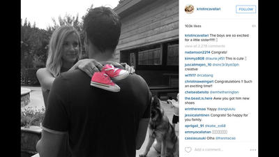 Jay Cutler, Kristin Cavallari having a girl
