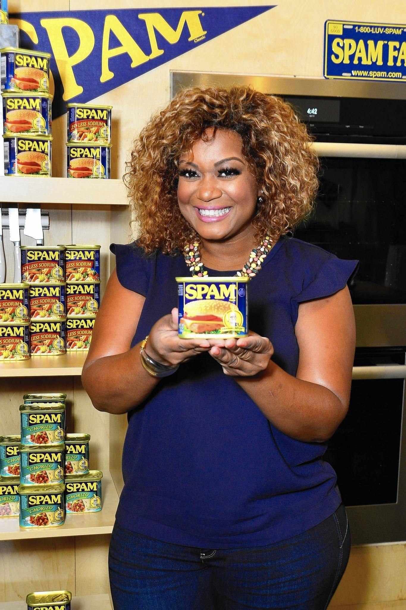 Sunny Anderson Celebrity Chefs Sing Praises Of Spam At Taste Of Chicago  Chicago