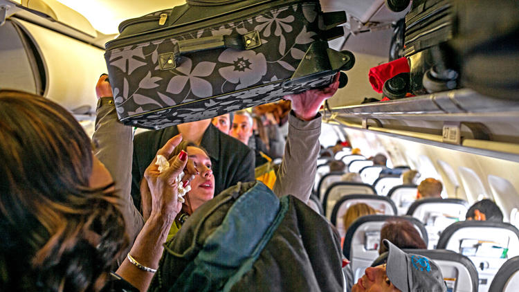 Airline baggage fees have an upside