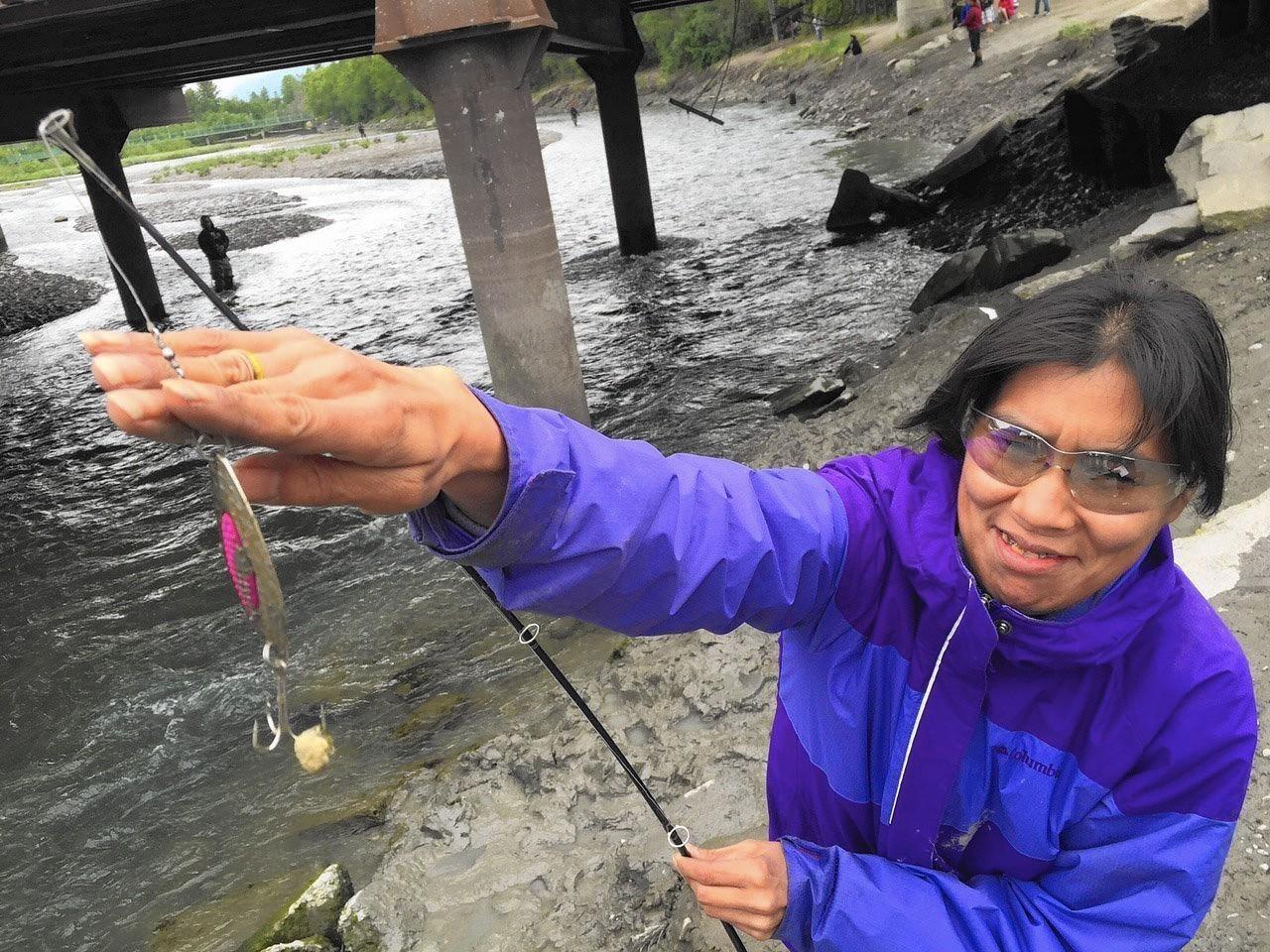 The renewed lure of king salmon draws urban fishermen in for Anchorage alaska fishing