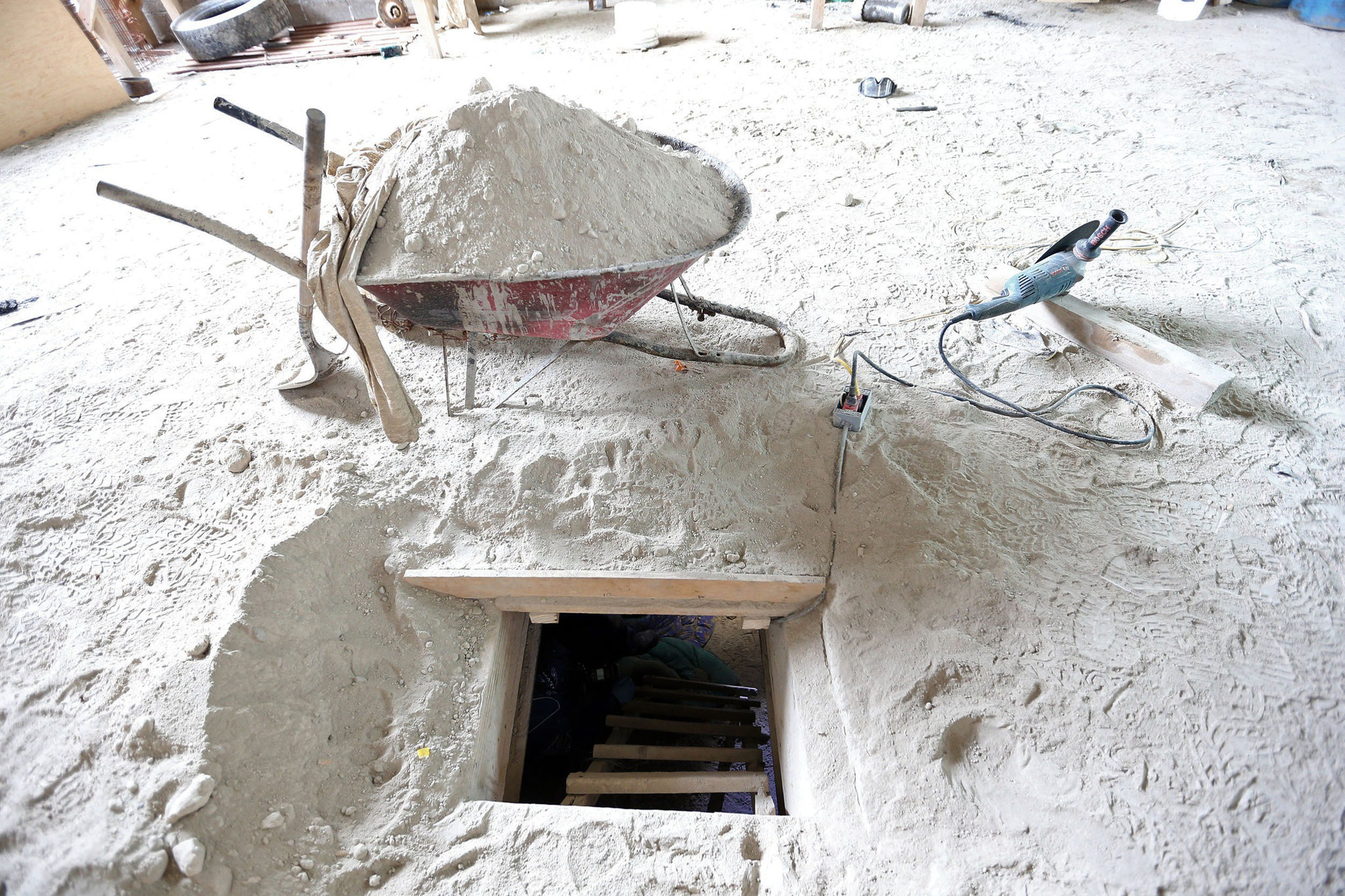 it probably cost millions to build tunnel believed to be