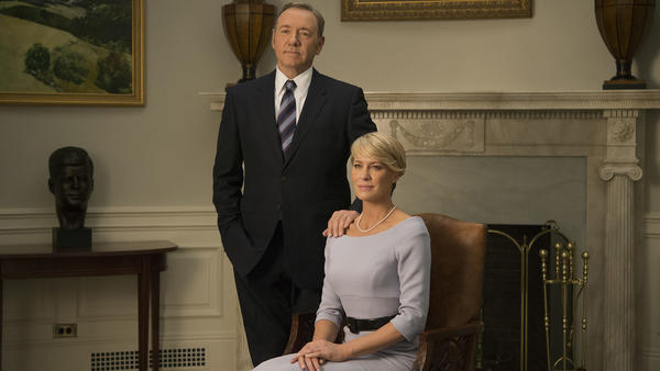 Kevin Spacey is nominated again for his role as scheming politician Frank Underwood in the Netflix original series
