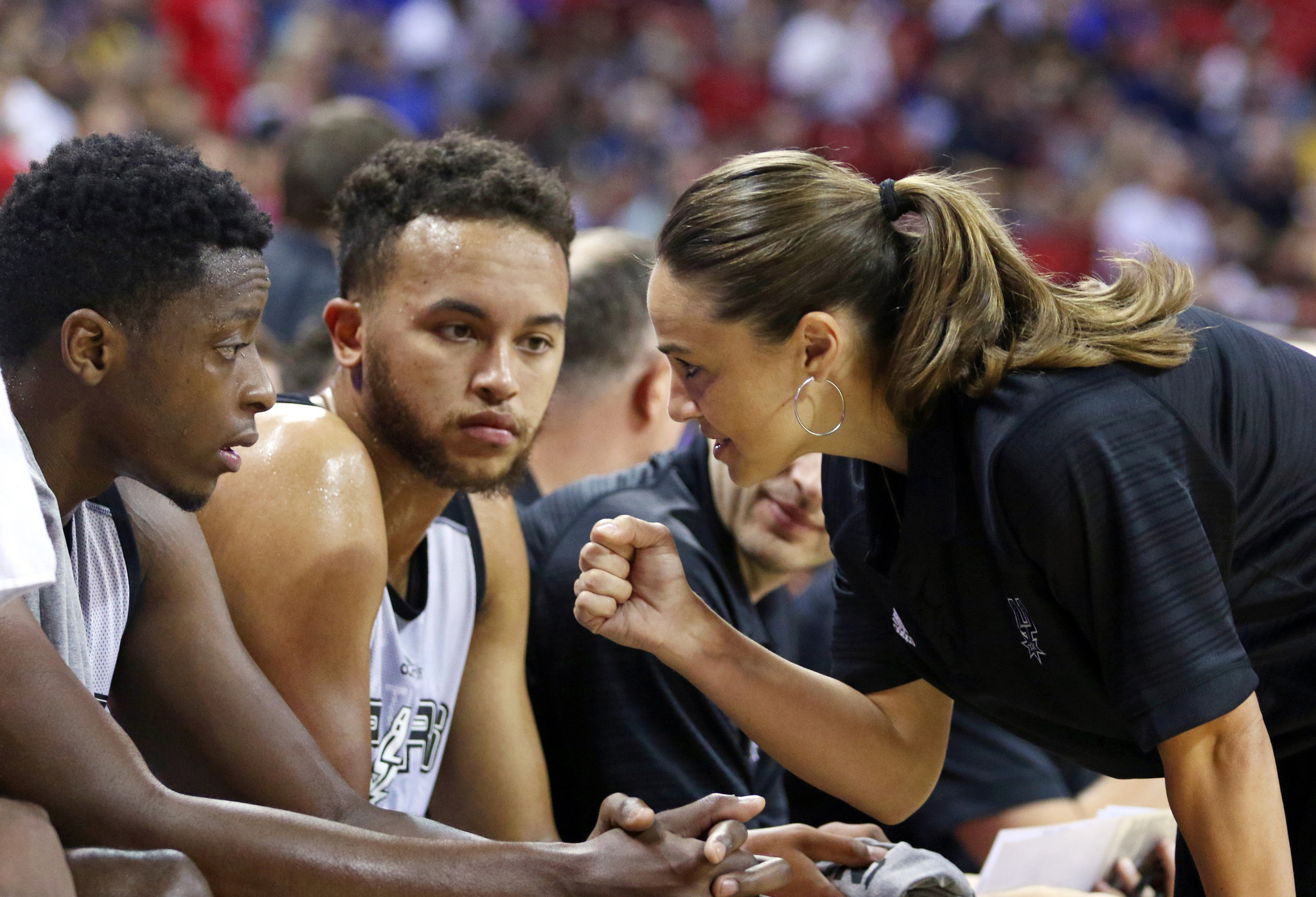 Becky Hammon shows that the NBA is not just a man's world - LA Times