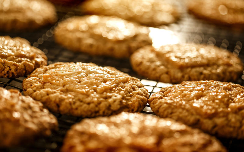 Sycamore Kitchen's oatmeal cookies
