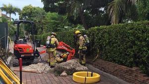 Natural gas leak prompts evacuations in Fort Lauderdale