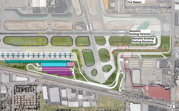 Proposed replacement terminal