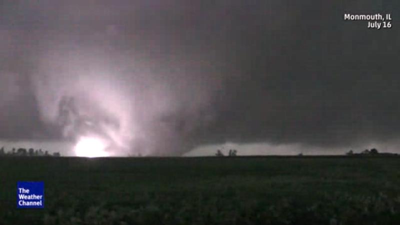tornado hits town of cameron  no significant injuries