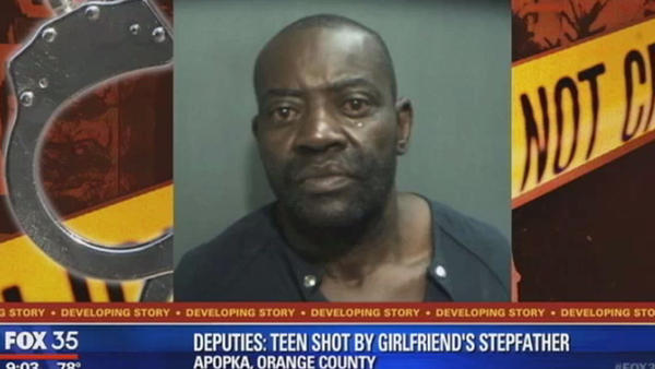 Deputies: Teen shot by girlfriend's stepfather