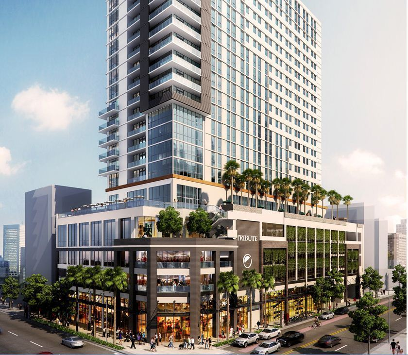 Tribute Element Dual Branded Hotel Coming To Fort Lauderdale In 2017 Sun Sentinel