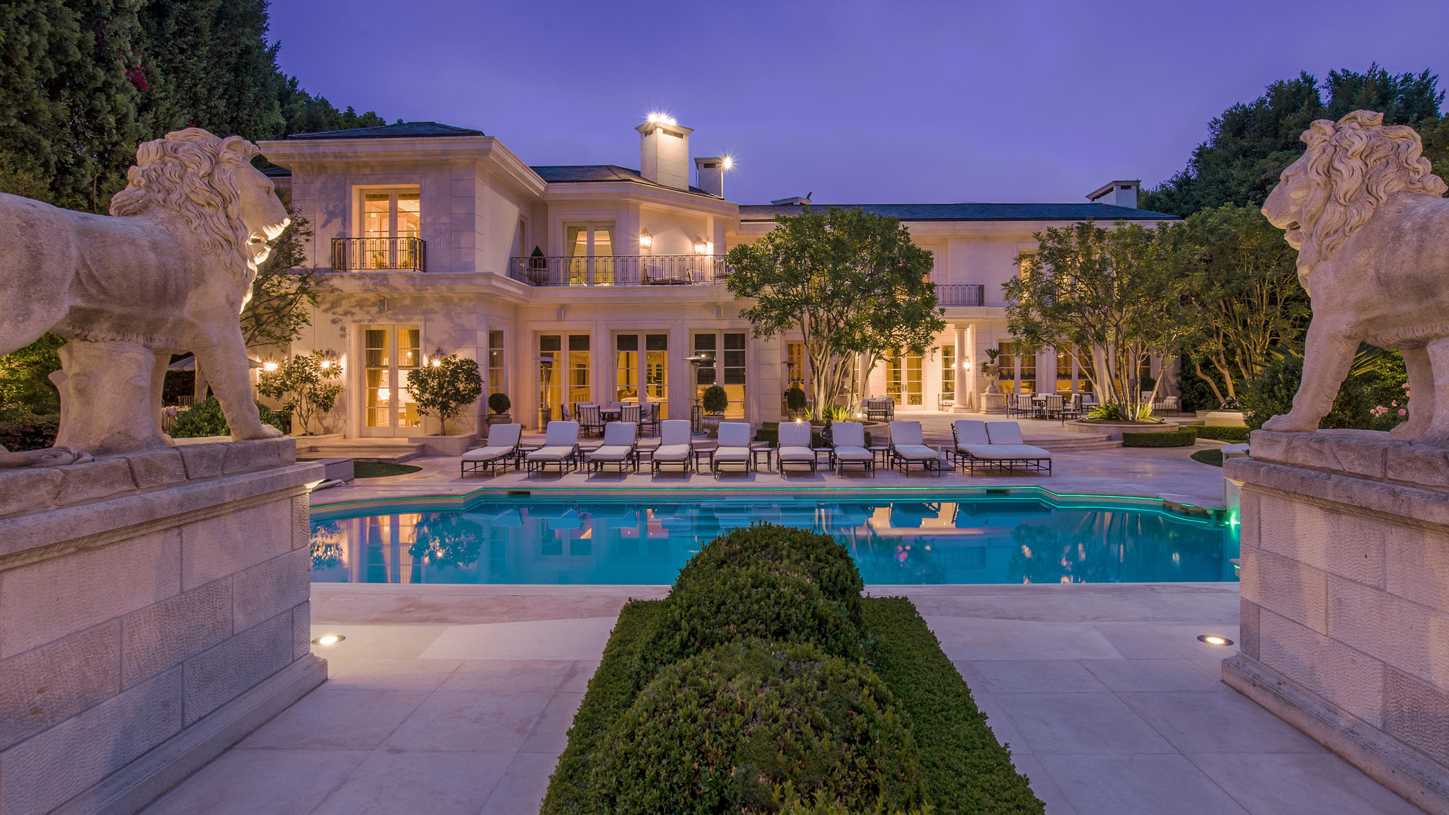 Home of the day grand neoclassical estate in beverly hills for 39 5