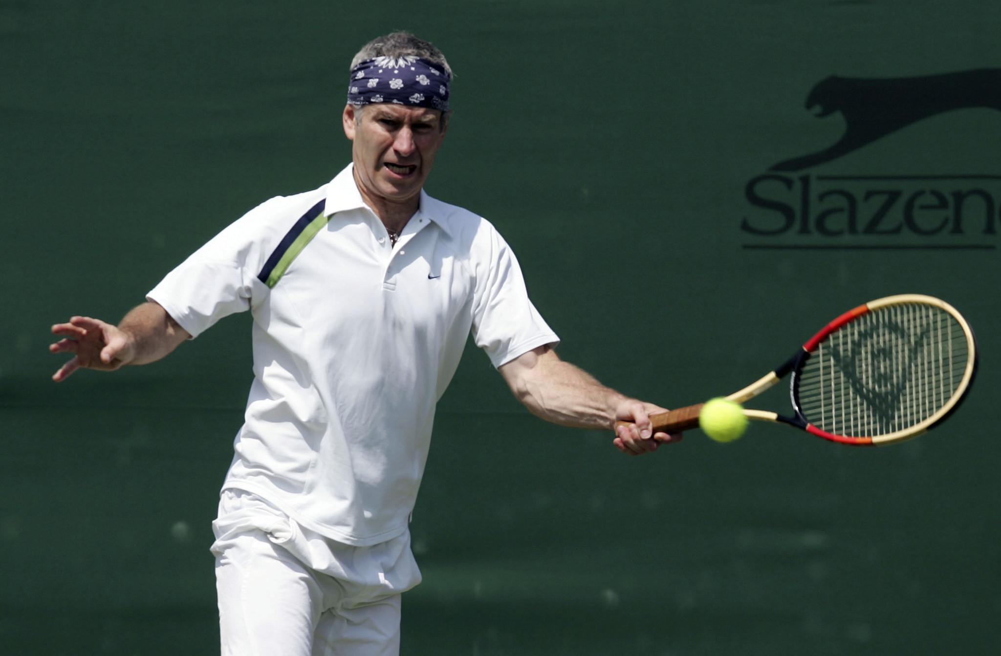 John McEnroe Still Fiery petitive At 56 Set For New Haven