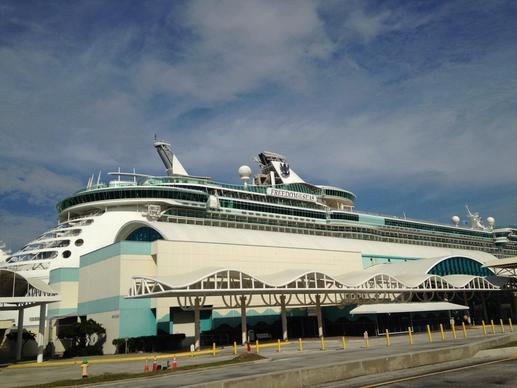 The Royal Caribbean Freedom of the Seas underwent a 24-day drydock refurbishment in January 2015. It sails year-round out of Port Canaveral.