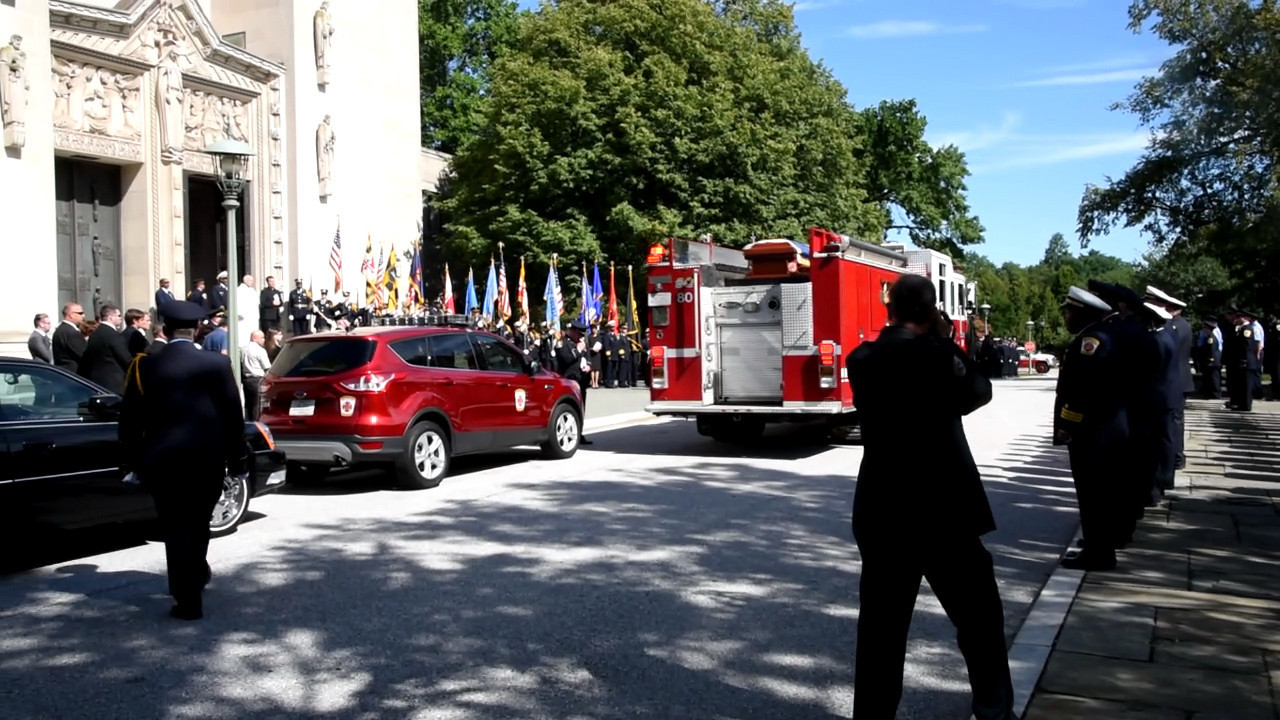 Video Funeral For Paramedic Nick Hemingway Baltimore Sun