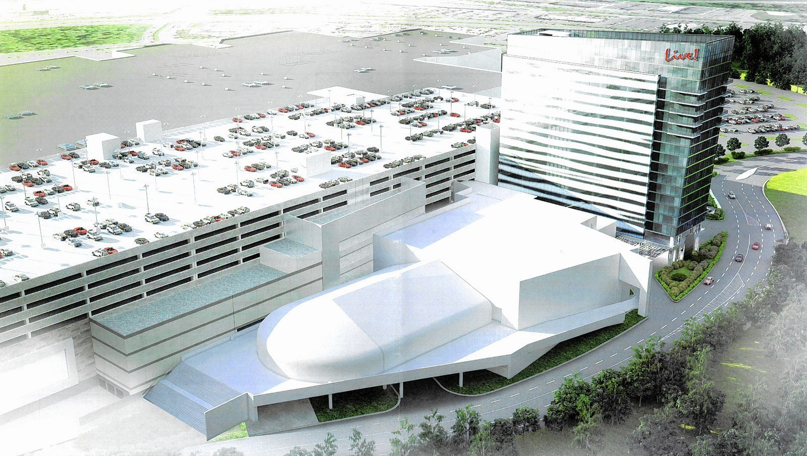 Maryland Live plans reveal 18-story hotel proposal at casino site ...