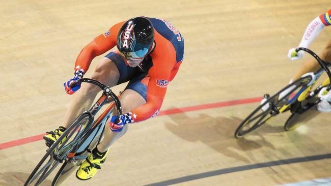 Matt Baranoski cycling