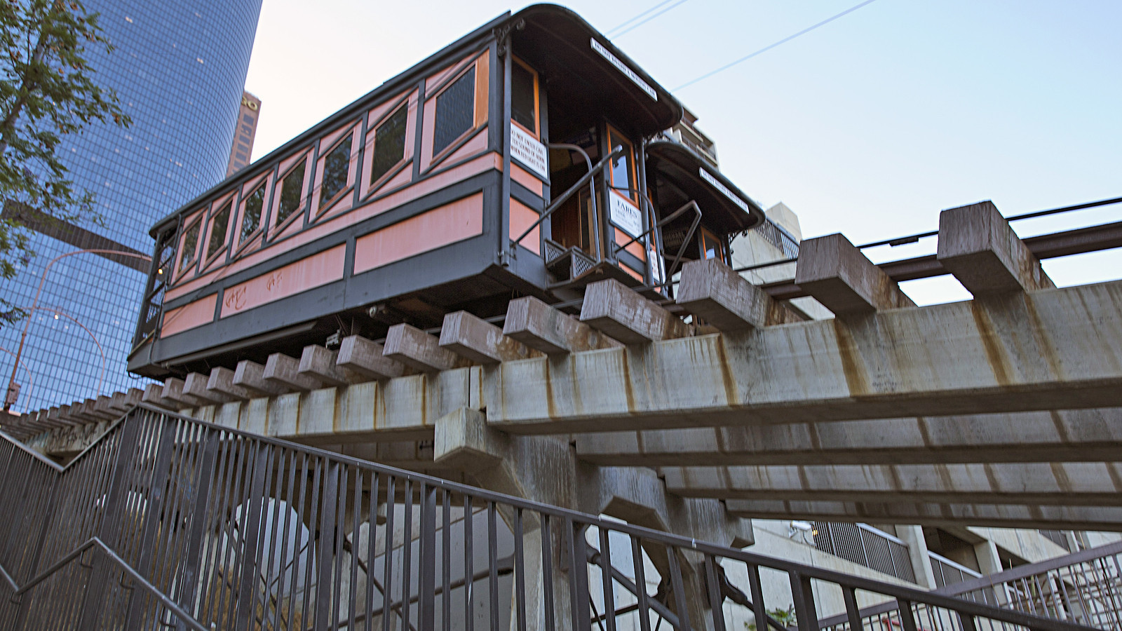 Abandoned three years ago, Angels Flight now target of graffiti vandals