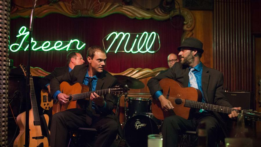 Occidental Gypsy Swings the Green Mill in Chicago: Review by Chicago Tribune July 25, 2015