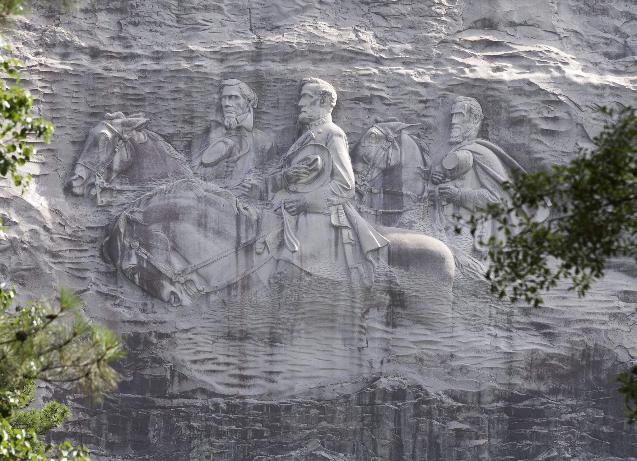 Georgia debates mountainside carving dedicated to