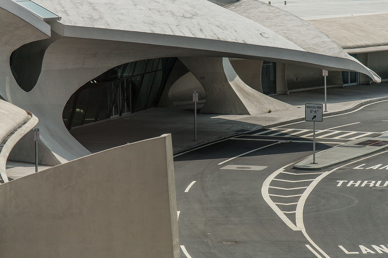 The old gull winged twa terminal at jfk to become a jet for Hotel at jfk terminal