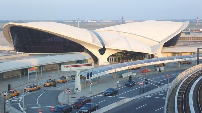 Image gallery old twa terminal jfk for Hotel at jfk airport terminal