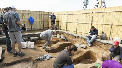 Jamestown remains identified as founders