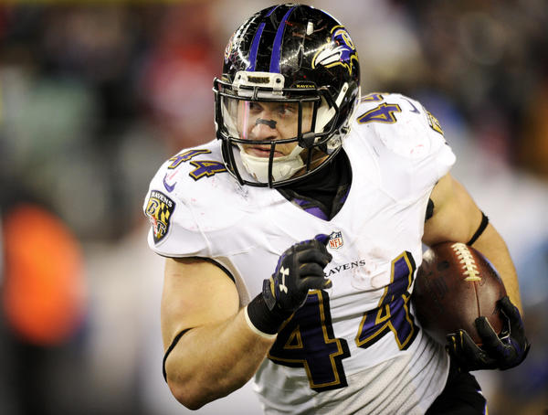 Ravens fullback Kyle Juszczyk says role hasn't changed, but see…