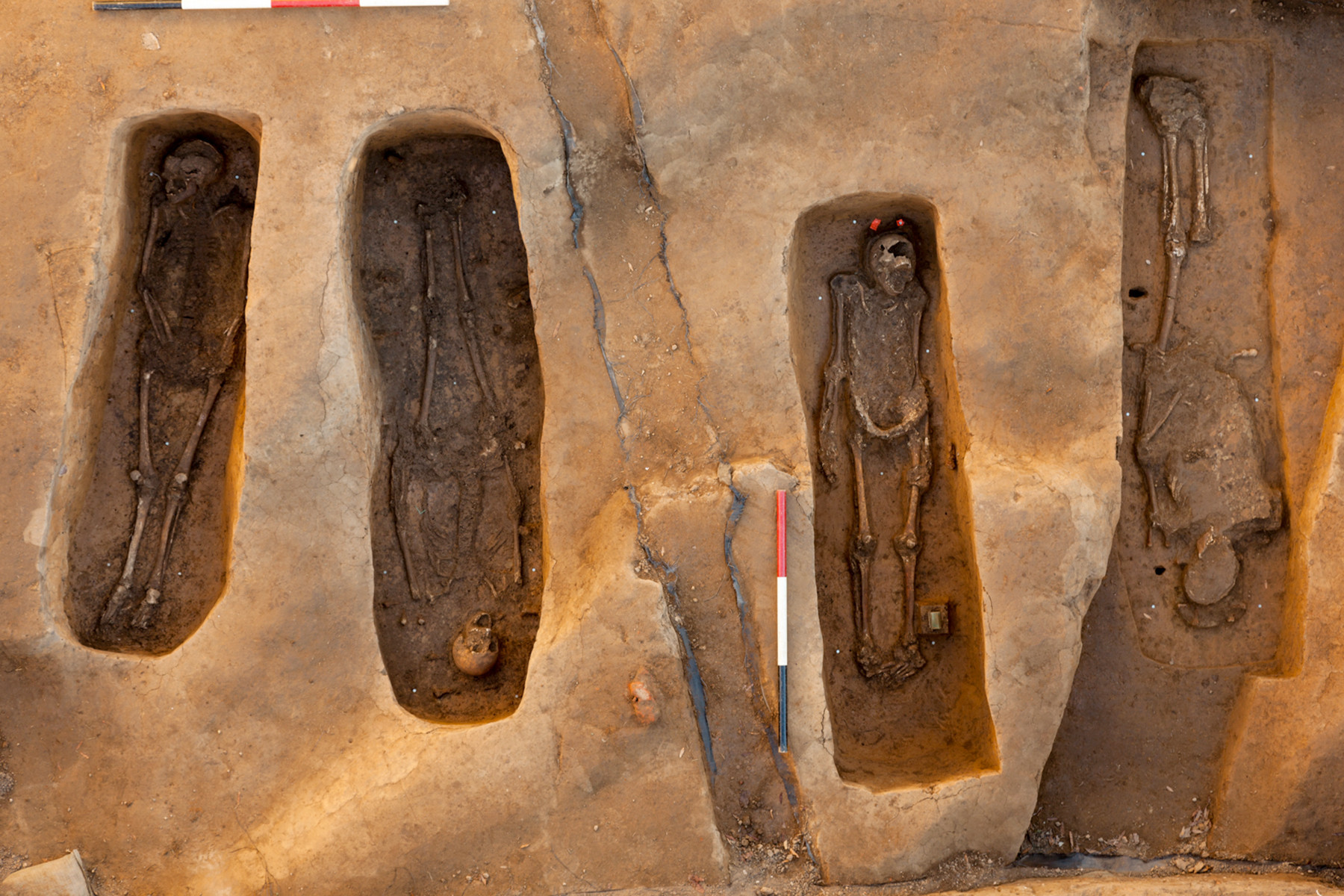 Remains of 4 early colonial leaders discovered at Jamestown