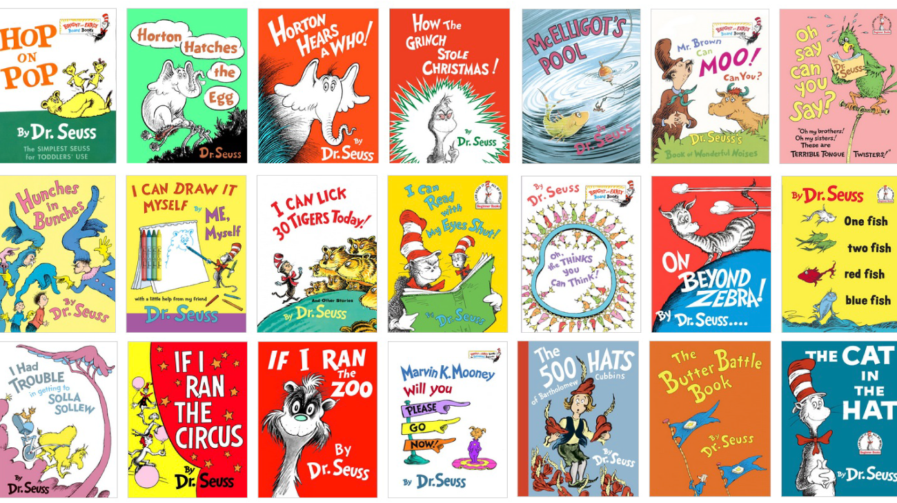Dr Seuss Book Cover Pictures : Read across america celebrating dr seuss birthday