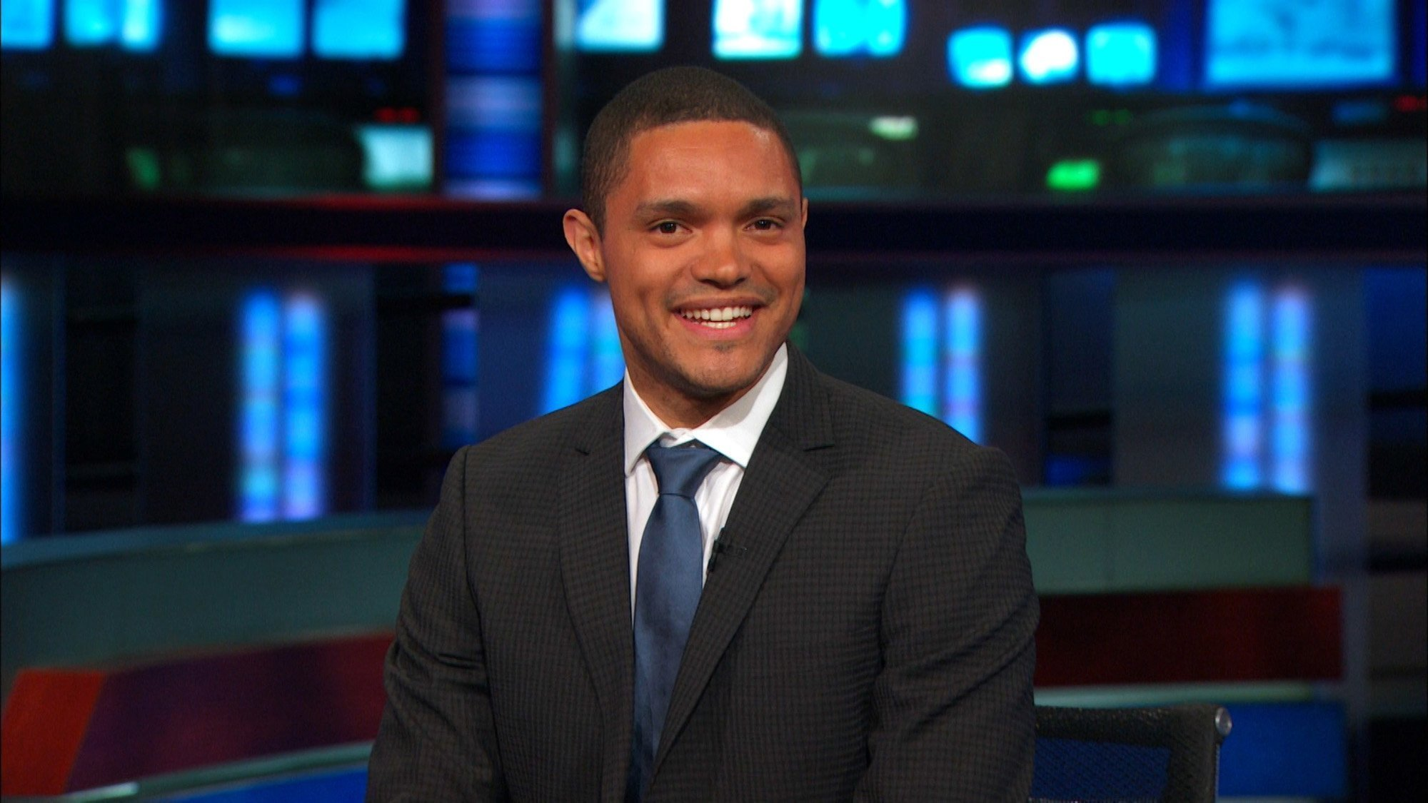 the daily show host in waiting trevor noah keeps his cool in concert performance la times