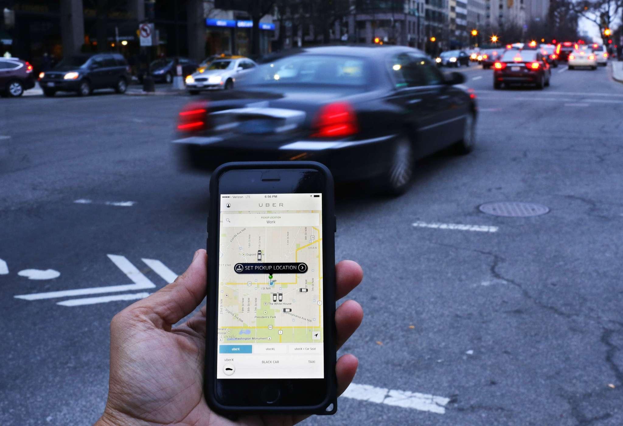 uber tests car leasing program for drivers la times. Black Bedroom Furniture Sets. Home Design Ideas