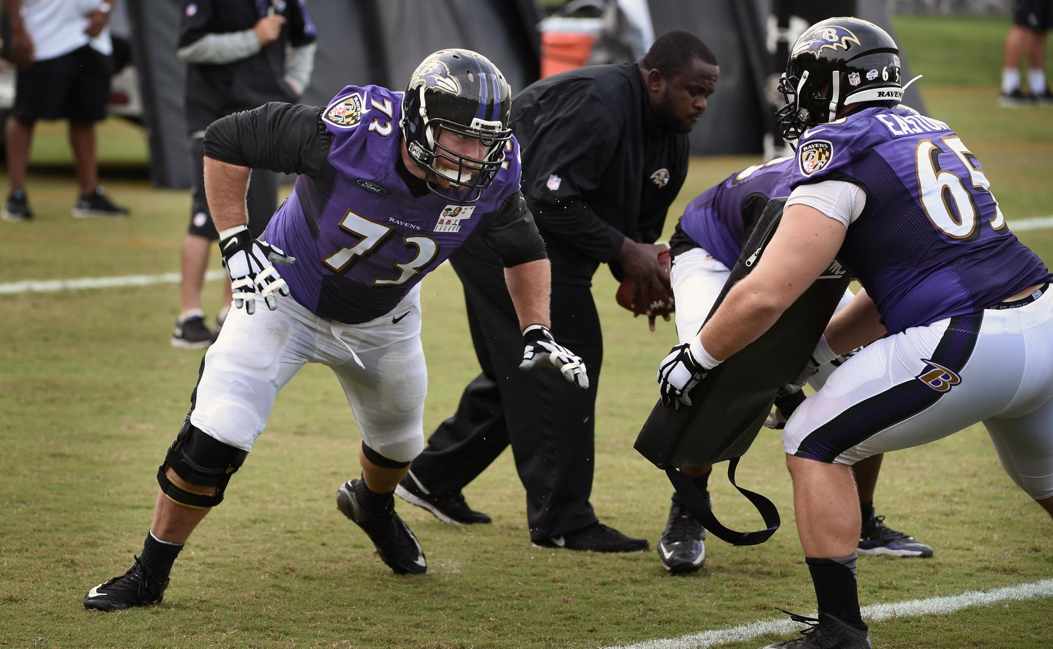 Ravens Pro Bowl guard Marshal Yanda hits training camp ac panied