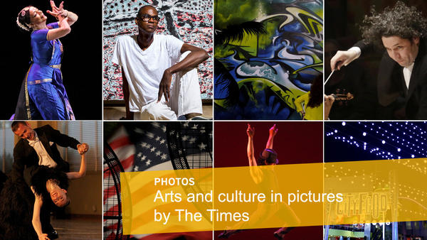 Arts and culture in pictures by The Times