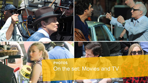 <p>A behind-the-scenes look at filming around the world for television and movies, as seen from the streets.</p>