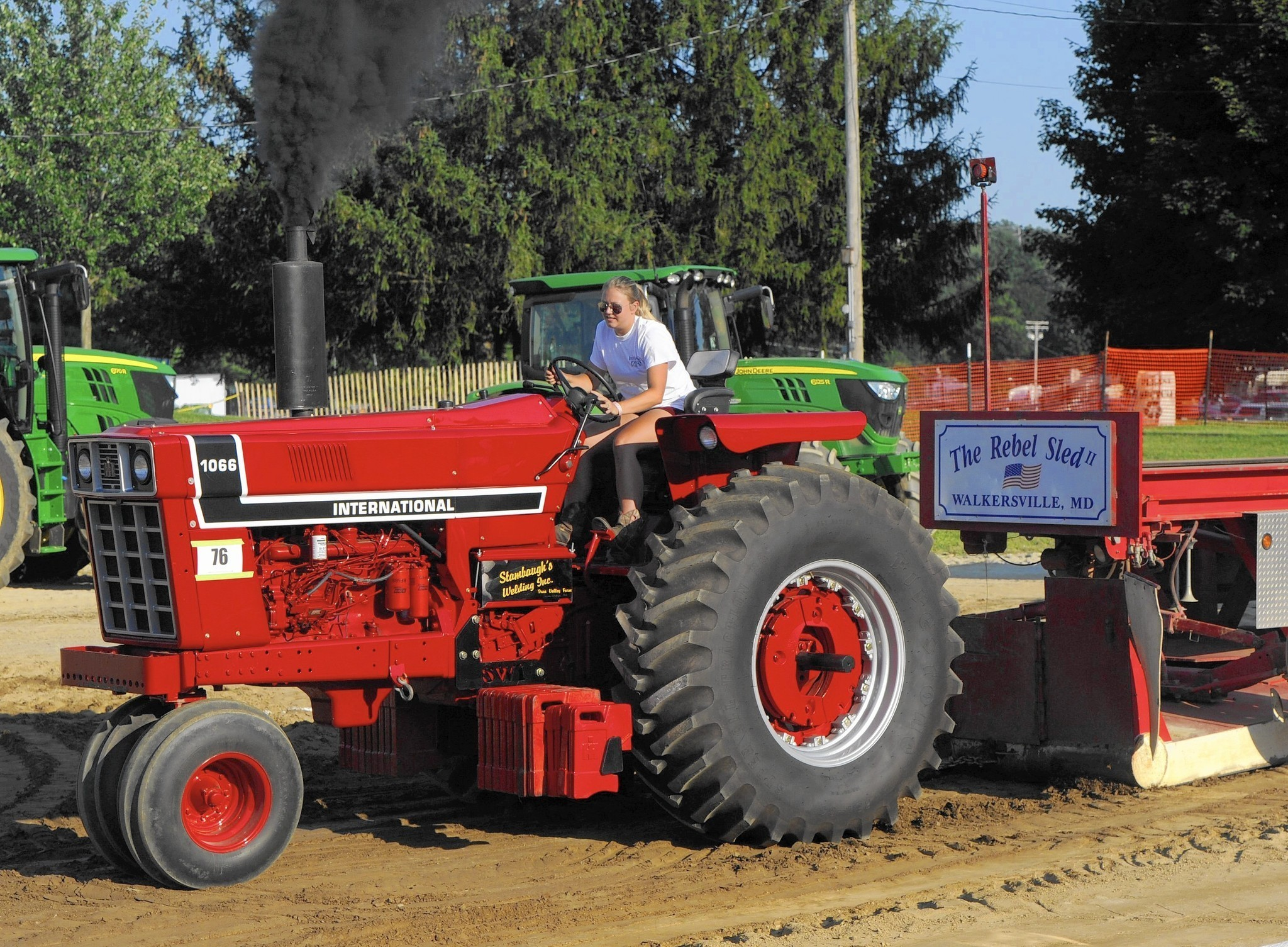 Tractor Pulling Tractor : For some tractor pull is a family tradition carroll