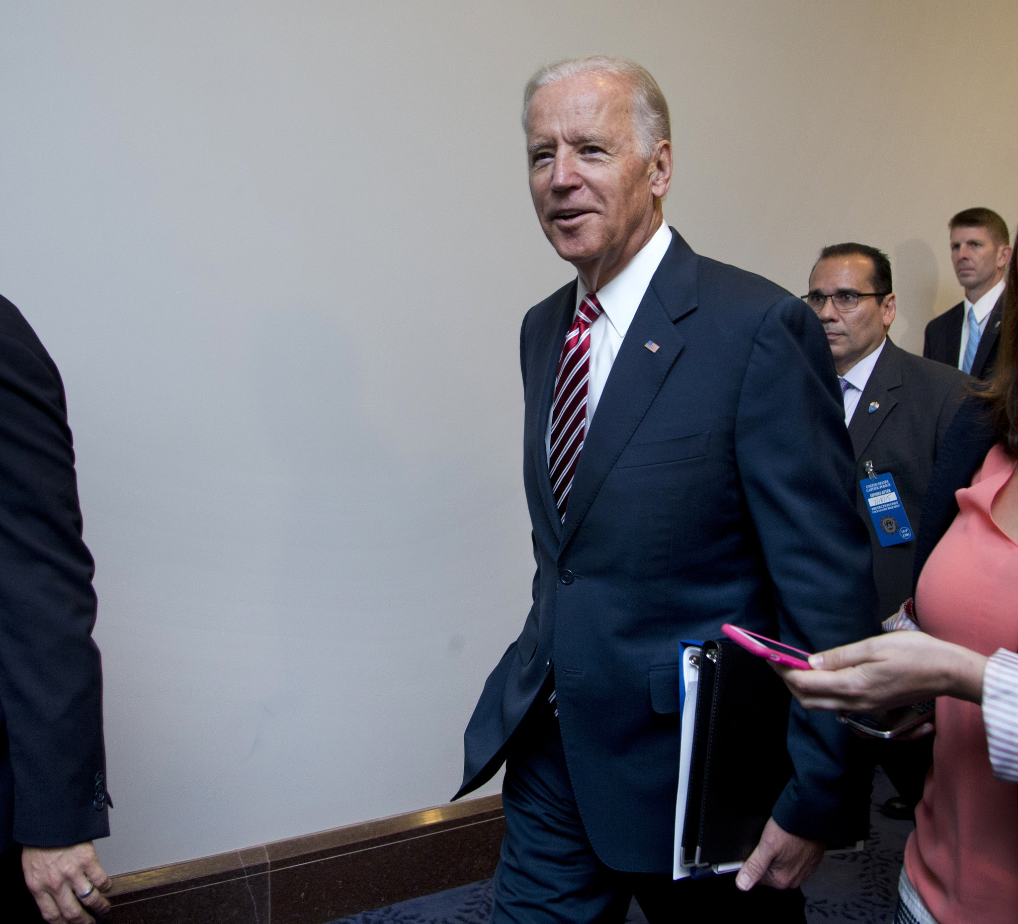 president biden v p s advisers resume discussion about