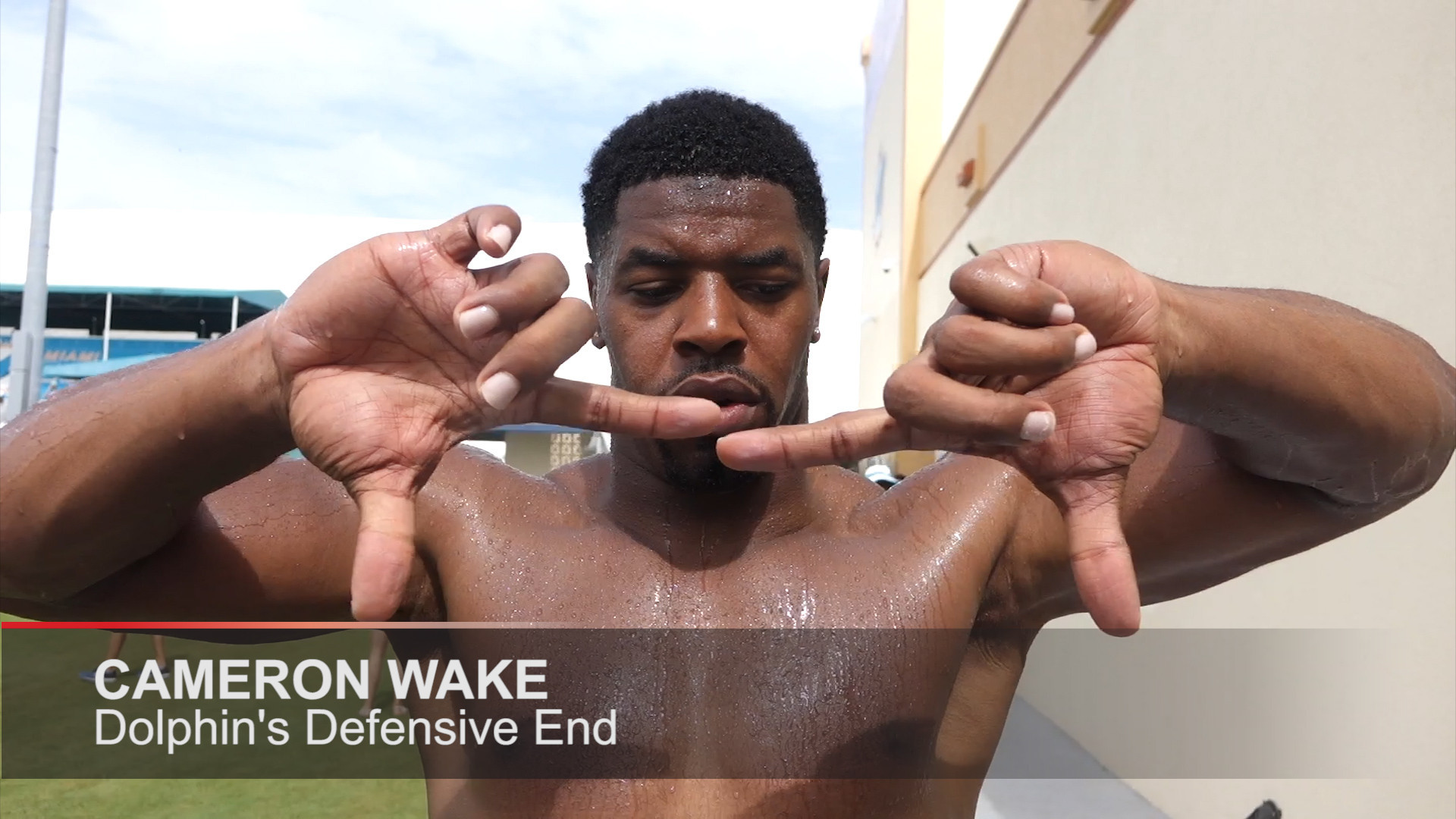 Cameron Wake on defense playing well in camp Sun Sentinel